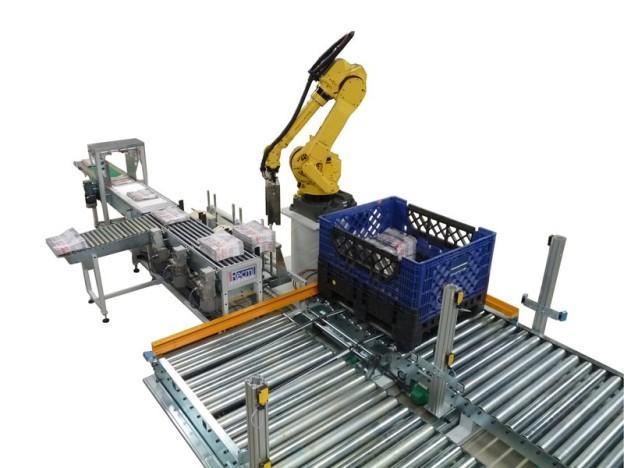 Robots de palettisation