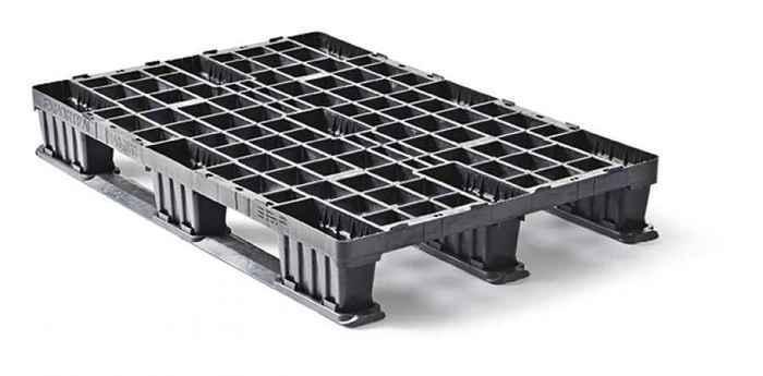 Kunststoff containerpalette QP76114LR3RR - null