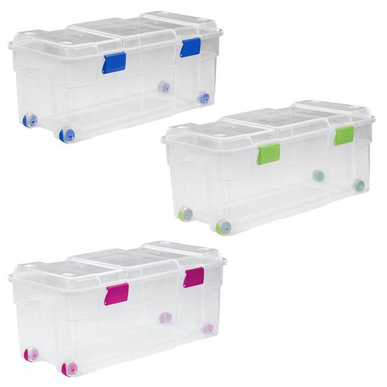 BOX WITH WHEELS 78 L -