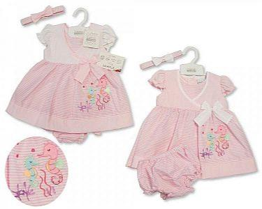 Baby Dress - Seahorse -