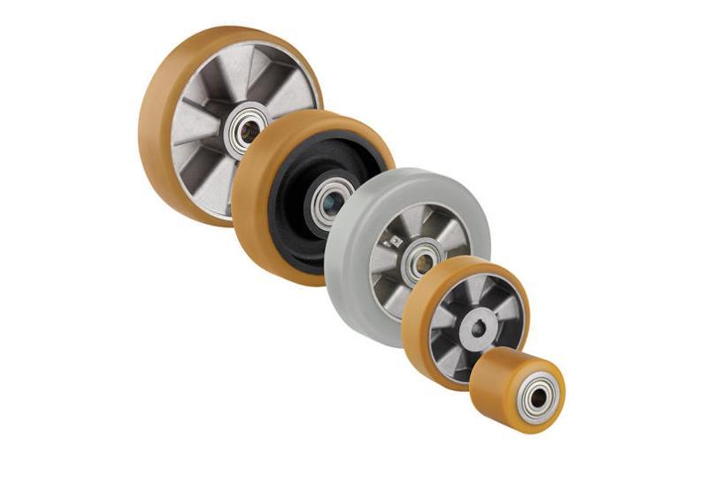 roue antistatique - en polyuréthane pour charge lourde