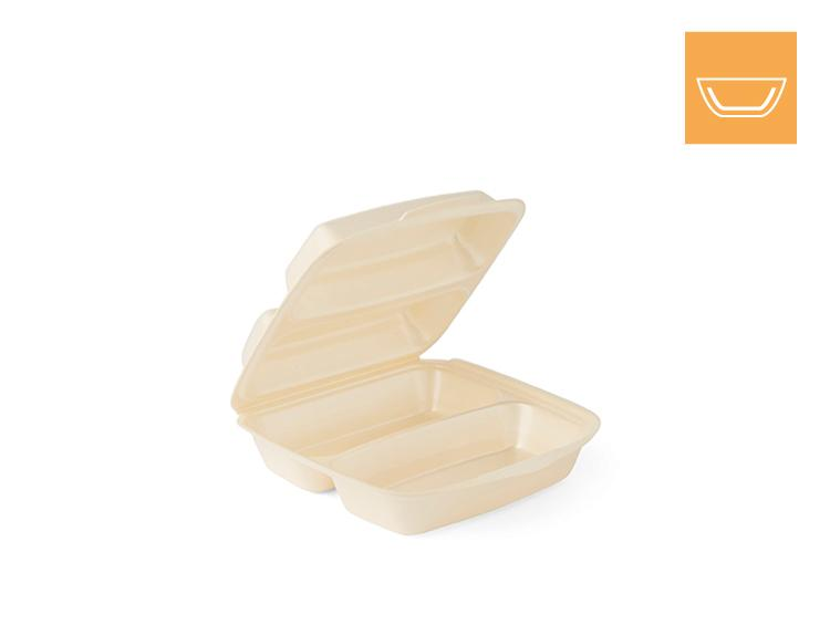 laminated, 2-comp - Food boxes