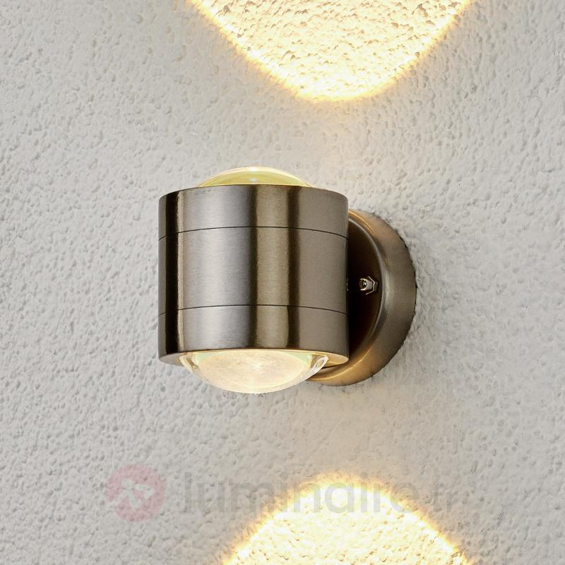 Applique d'extérieur LED Lydia à 2 lampes - Appliques d'extérieur LED