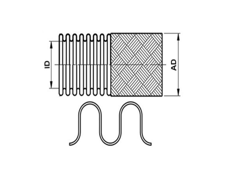 Edelstahlwellschlauch (Standard)