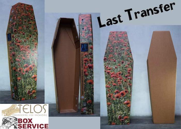 Last Transfer - Cassa mortuaria in cartone