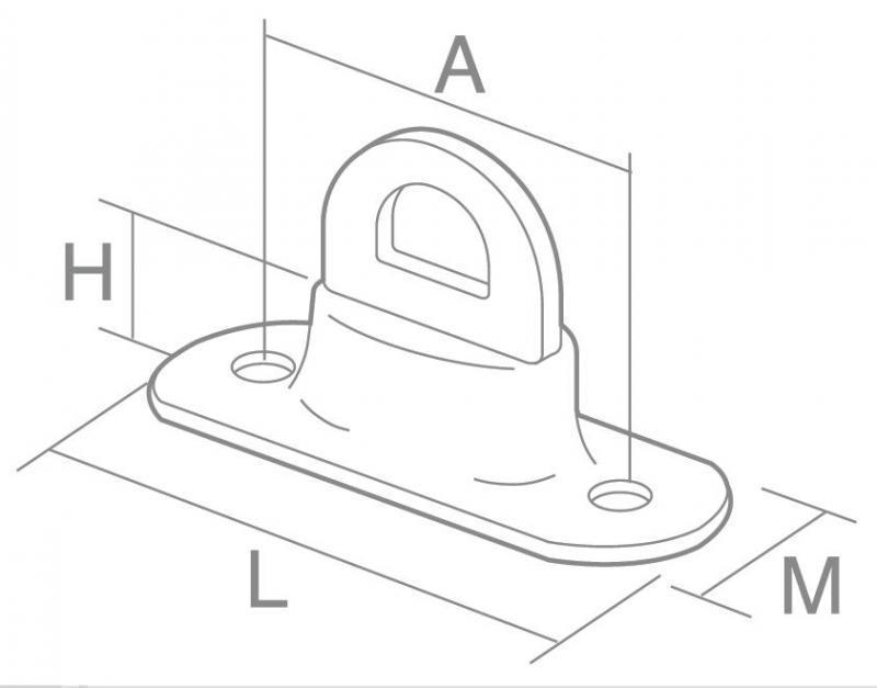 Kit tourniquet simple hauteur+ oeillet TITAN - KittitanSH