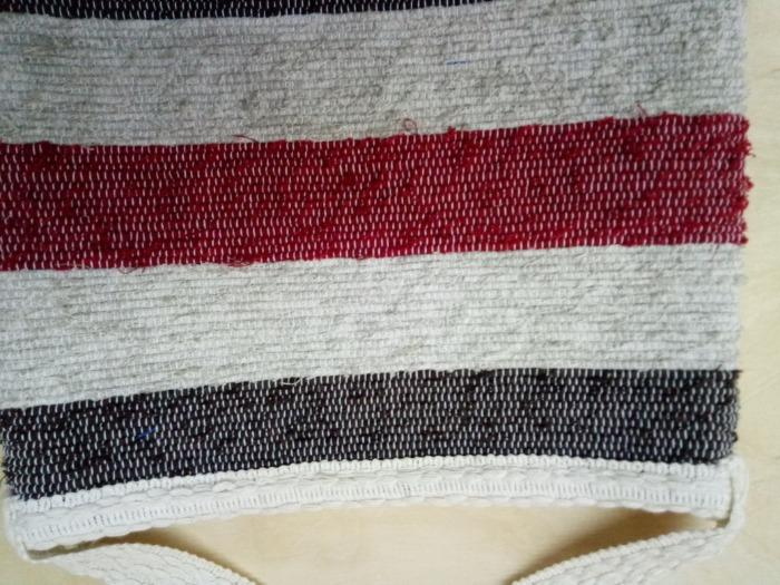 Handwoven designer handbag - 100% handmade! Eco style! 100% cotton!