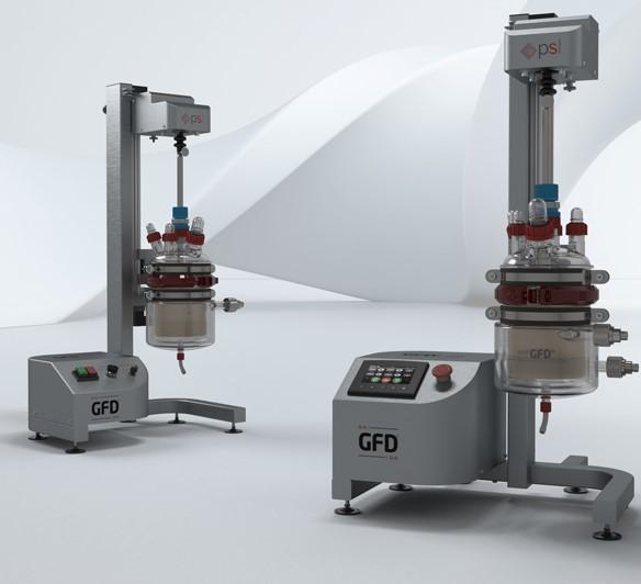 GFD® family of Lab Nutsche Filter Dryers - GFD Lab & GFD Lab Plus