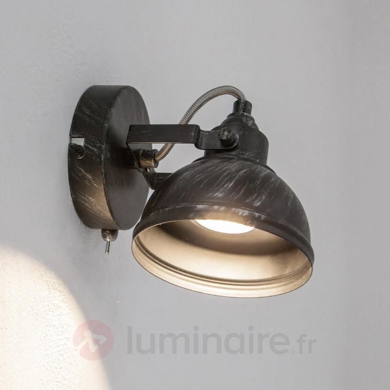 Spot GU10 au design antique Etienne - Plafonniers rustiques
