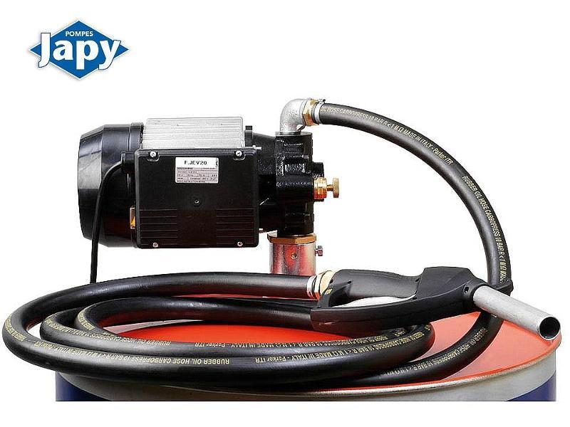 Electropompe équipée spéciale huile - FJEV20 et FJEV21 - null