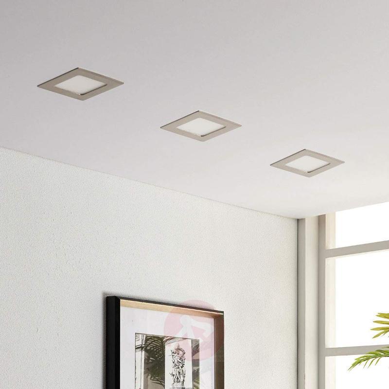 Square LED recessed light Martje - Recessed Spotlights