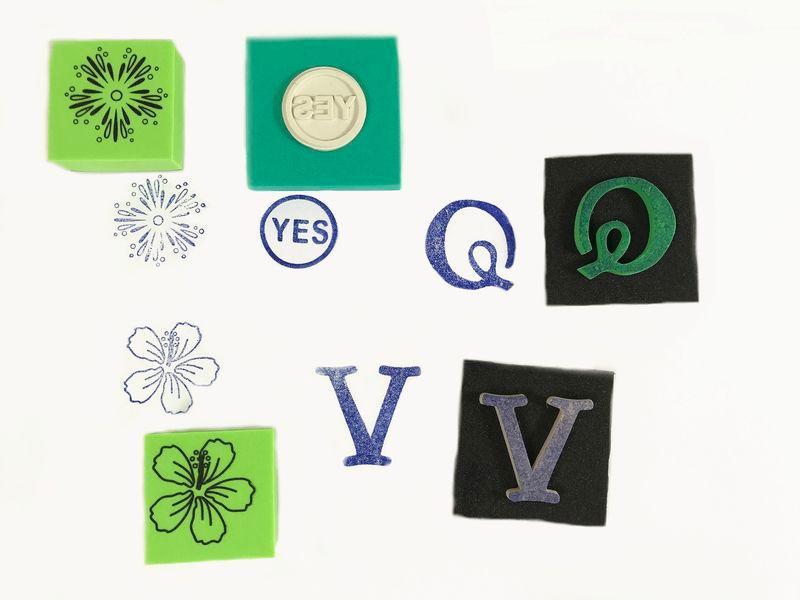 EVA / Rubber Stamp -