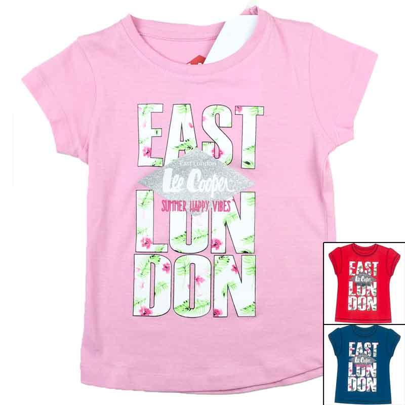 Manufacturer T-shirt kids licenced Lee Cooper - T-shirt and polo short sleeve