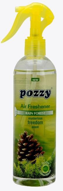 Pozzy Airfreshener Rain Fores 350ml