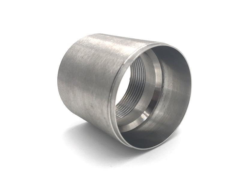 Machined Stainless Steel Tubing
