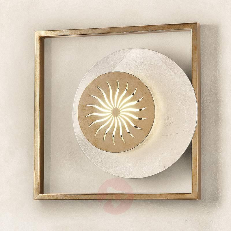 Wall light Ajani in antique silver - Wall Lights