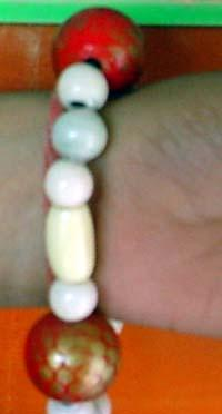 Wooden Bracelets with Streach Adjustment