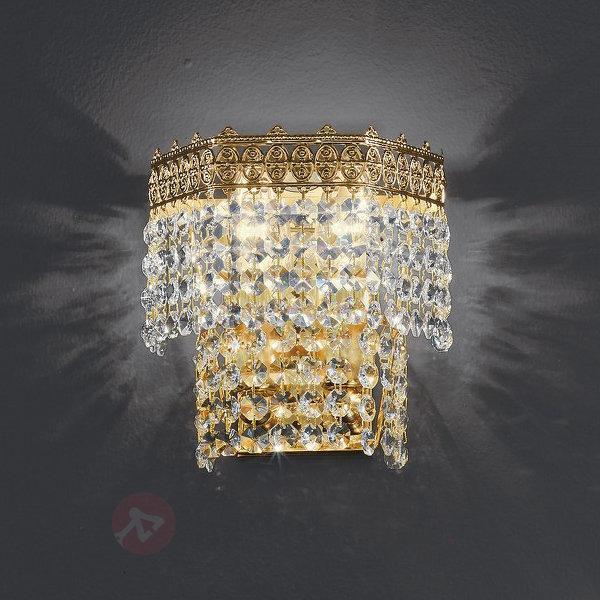 Applique cristal à 2 lampes Mosca - Appliques en cristal