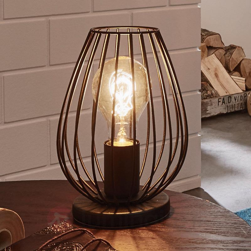 Lampe à poser Newton, aspect vintage - Toutes les lampes à poser