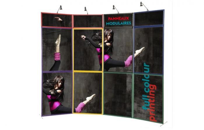Panneaux modulaires - banner roll up snap beach flag drapeau