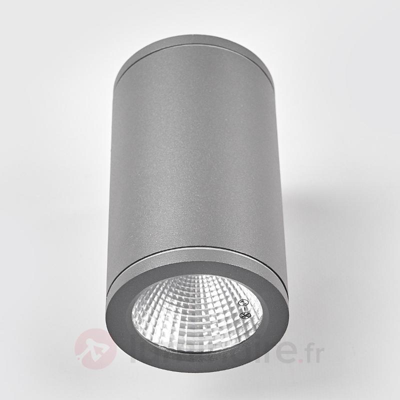 Applique d'extérieur LED ronde Nuria à deux lampes - Appliques d'extérieur LED
