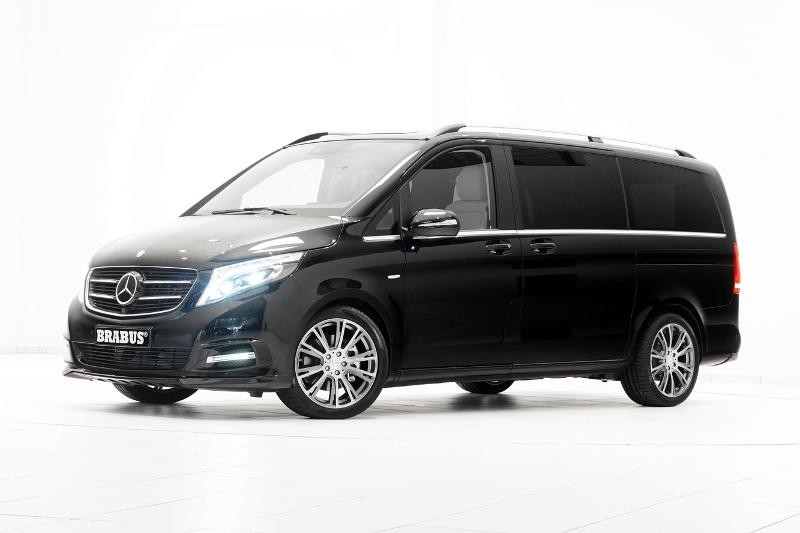 Minibus with driver to rent - services - Mercedes V Class