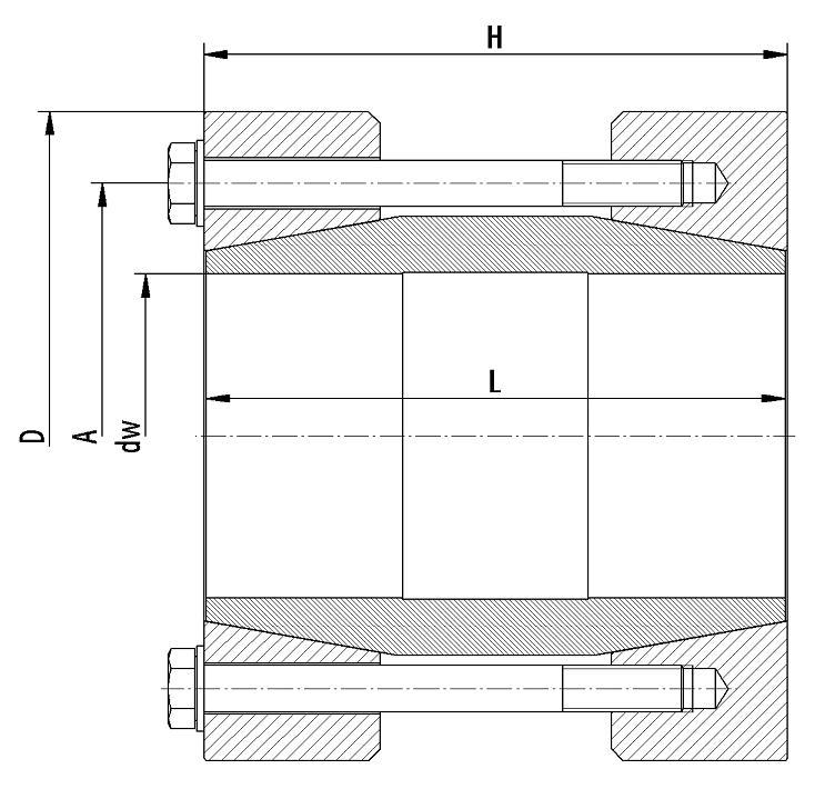Type WLB - Shaft Couplings