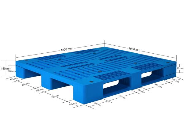 Plastic Pallet- Industrial - IPM1210