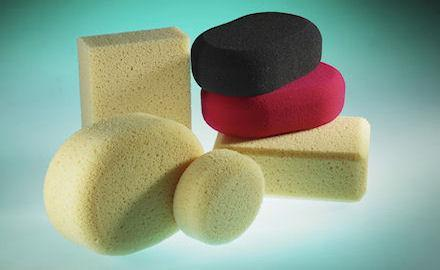 Special sponges - Hydro sponges for manually processing green ceramic ware