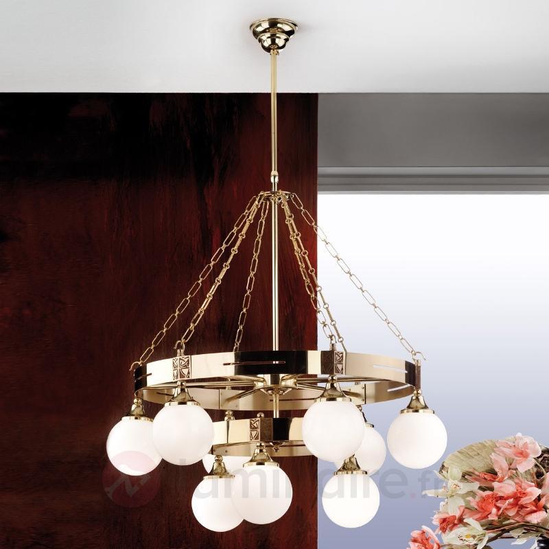 Magnifique lustre Eleganzia design Art Nouveau - Suspensions classiques, antiques