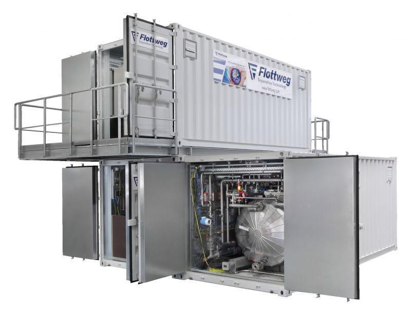 Tricanter® - Decantador en 3 fases de Flottweg para diversas aplicaciones