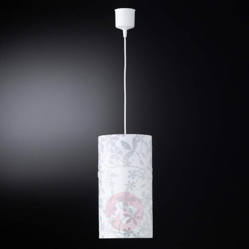 Florenz hanging light with floral pattern - Pendant Lighting