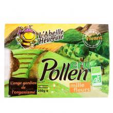 Pollen de mille fleurs - Pollen biologique et surgelé