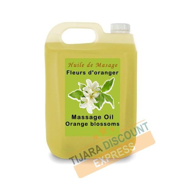 Huile De Massage Fleurs D'oranger En Vrac - Huiles de massage en vrac