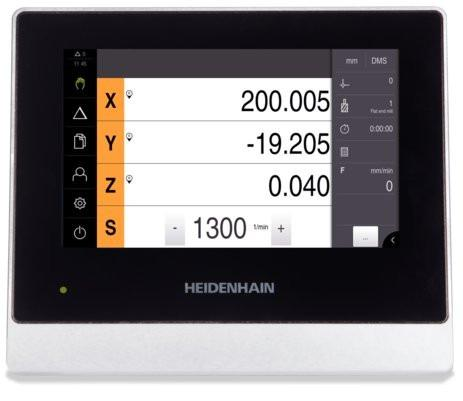 ND 7013 - Digital readout for manually operated machine tool