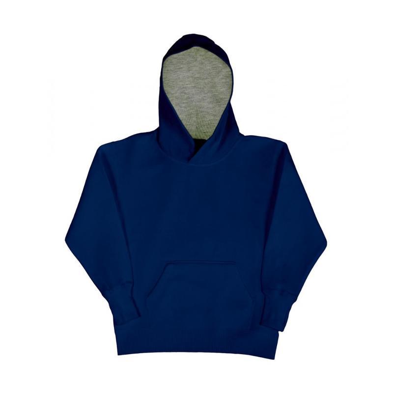 Sweat shirt enfant Contraste - Avec capuche