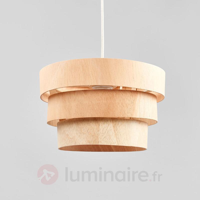Suspension originale Kazuki Wood 35 cm - Suspensions en bois