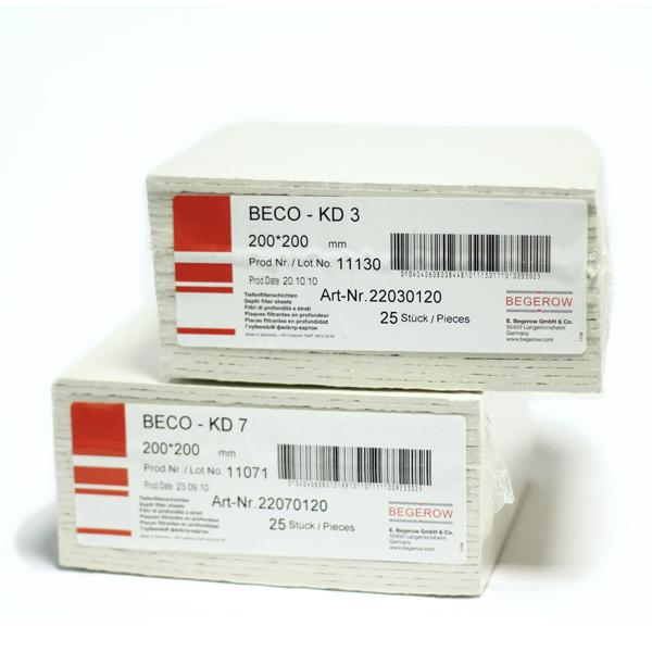 Filtres kd 10 beco 20x20 - null