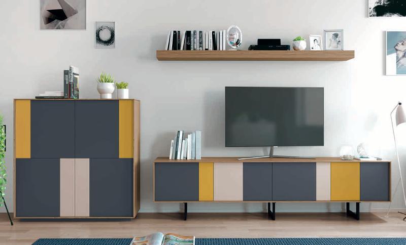 Composición Con Diseño De Colores - null