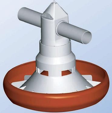 Feeder Broiler/Layer Spiralo Typ 45 - null