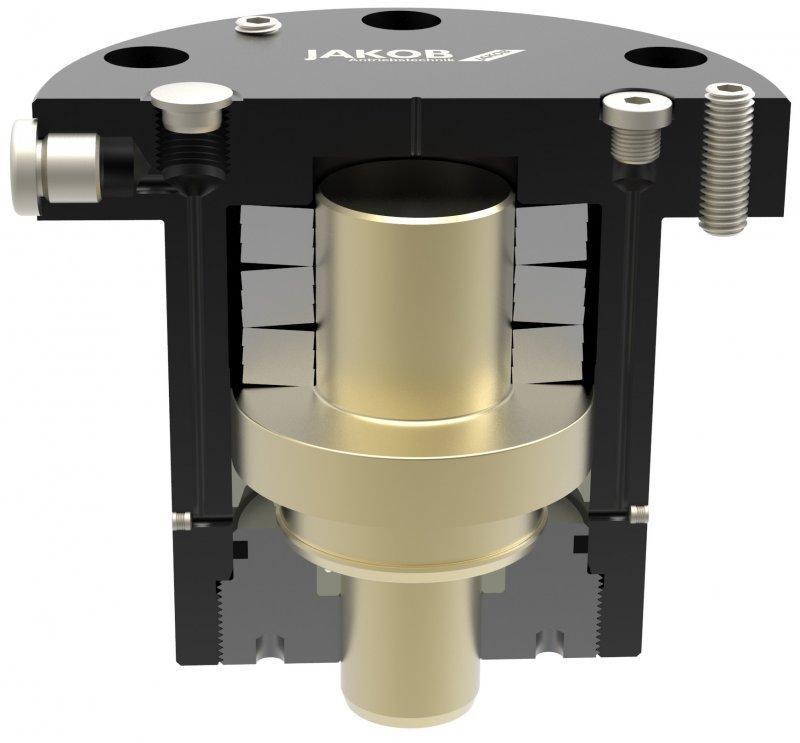 Spring clamping cylinder (pushing) ZDF-u - mechanical clamping – hydraulic releasing