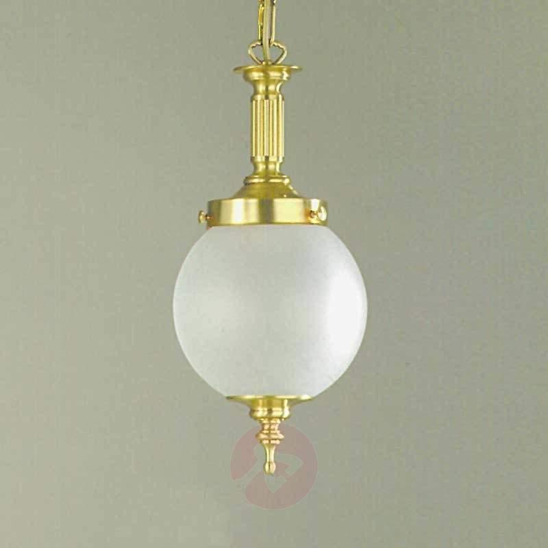 Objekt Hanging Light Art Nouveau Style Bronze - Pendant Lighting