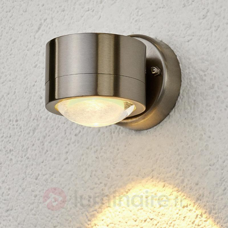 Lydia - applique d'extérieur LED en inox - Appliques d'extérieur LED