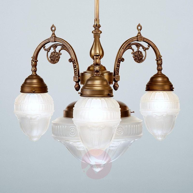 HEDWIG antique brass hanging light - design-hotel-lighting