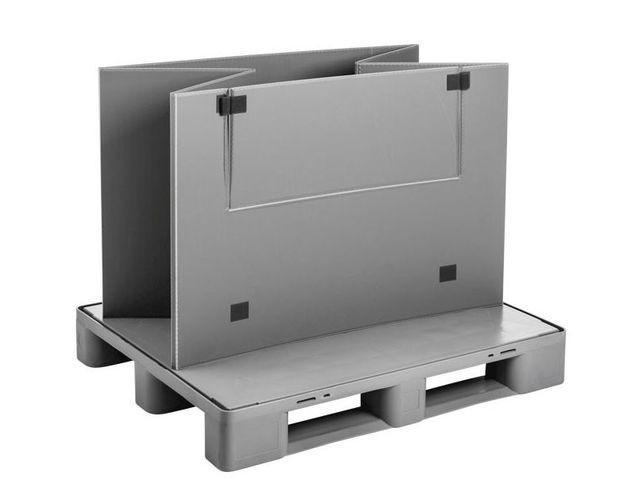Grand bac pliable: Mega-Pack 1000 Hybox - Grand bac pliable: Mega-Pack 1000 Hybox, 1200 x 1000 x 940 mm
