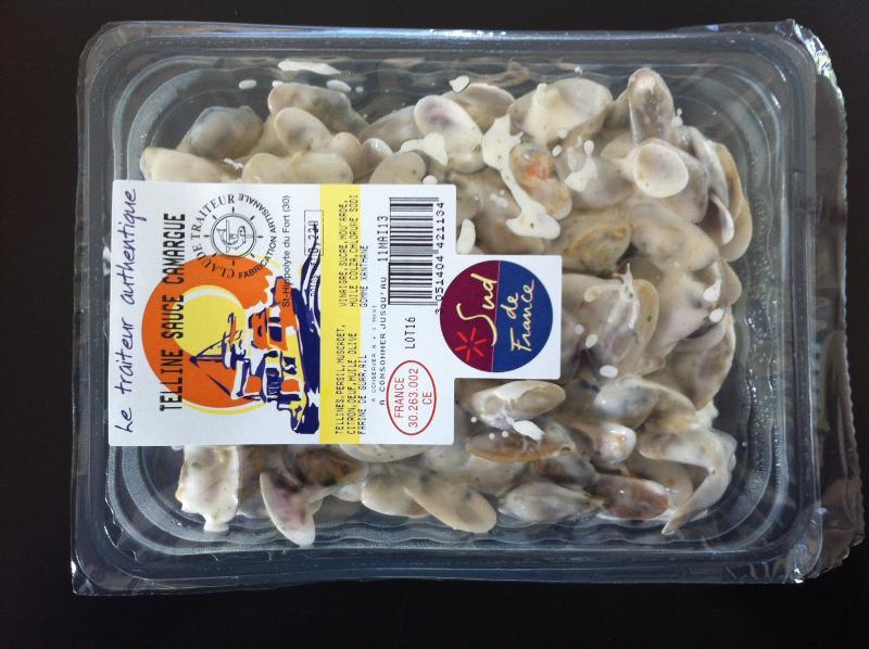 Tellines sauce Camargues - Produits de la mer