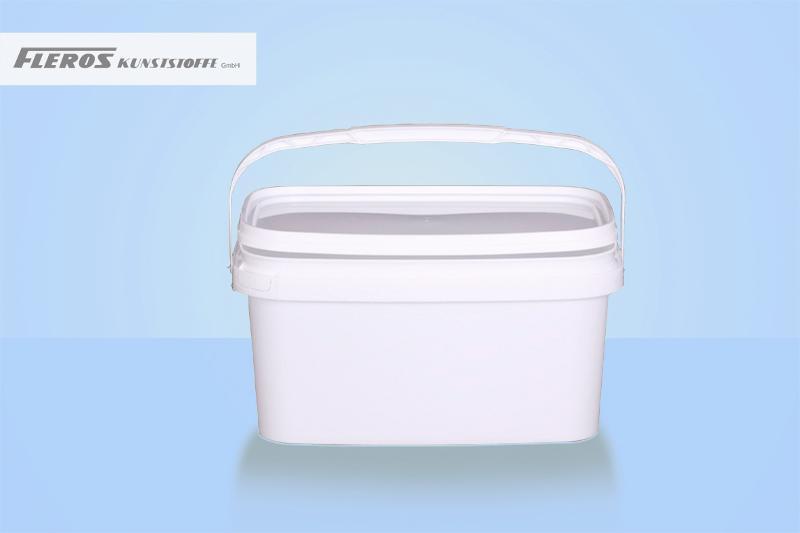 Rectangular buckets - FK-E 5.300 bucket, rectangular, PP