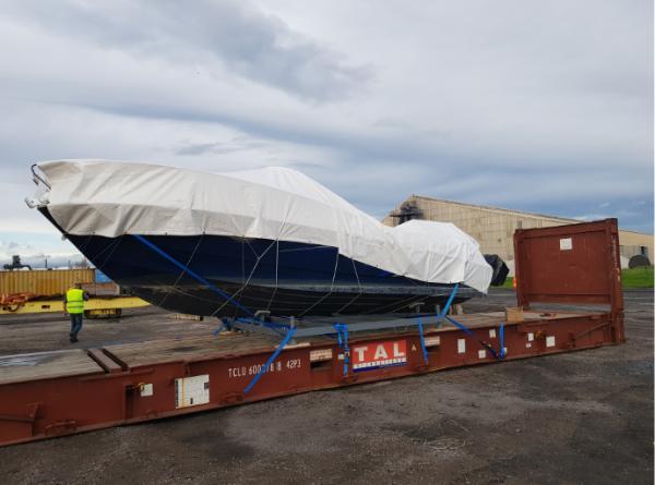 Transport Conteneurs maritimes - Transport de bateaux à l'export