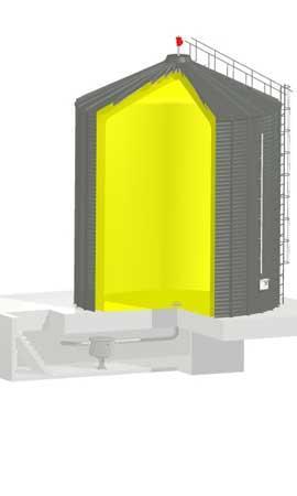 Low pressure gasholder NOXstore - STORE