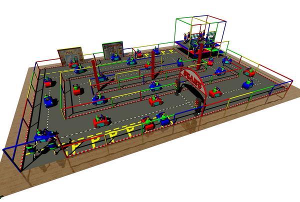 Car Race Tracks (CAR)    - Play Zones